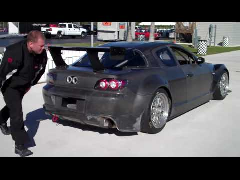 Team Seattle/Dempsey Racing's new car shakedown test Music Videos