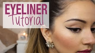 Tutorial | EASY Winged Eyeliner Tutorial | Kaushal Beauty