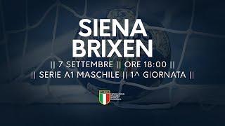 Serie A1M [1^]: Siena - Brixen 31-28