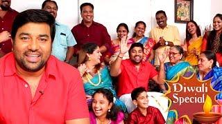The Real Kadaikutty Singam Family – Mirchi Shiva's Family | Full Comedy