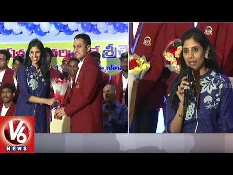 Sri Chaitanya Students Bag 1st Rank In JEE Advanced 2018 | V6 News