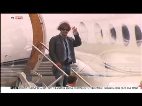 Sky News - Johnny Depp Dogs story (Australia)
