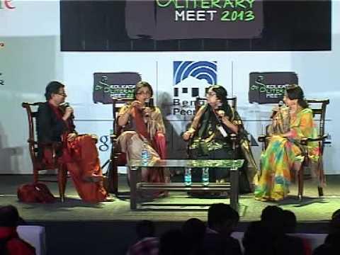 Kolkata Literary Meet 2013 -Nayikar Bhumikay-Satyajit er naari choritro (Part 1)