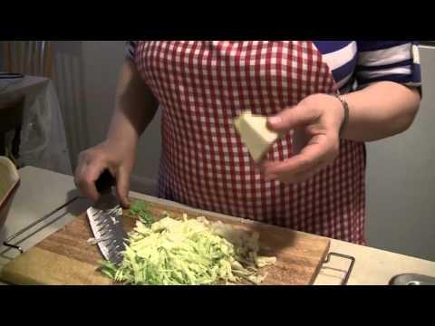 Как жарить капусту на сковороде - видео