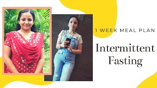 Intermittent Fasting malayalam | 1 week diet plan | Weight Loss diet plan | Simply Home by Geetz