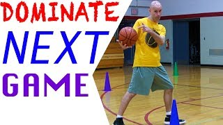 DOMINATE Your Next Game With 3 Basketball Drills For SCORING! MUST SEE!