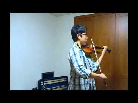 Peter Chang YTSO 2011 violin audition