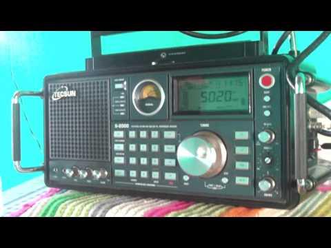 Solomon Broadcasting Corporation 5020 kHz , Honiara / Solomon Islands  - Amazing sign -
