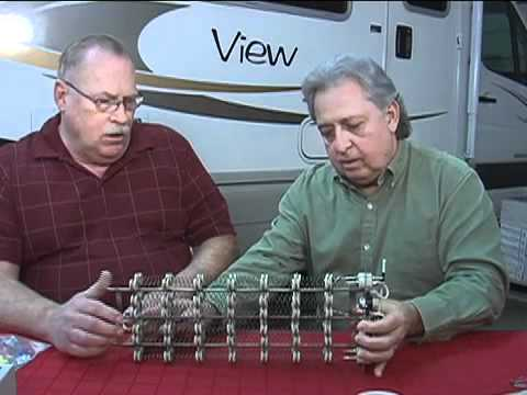 Adding electric heat option to an RV's propane heater
