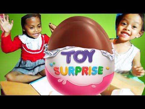 20 Surprise Eggs. Kinder Surprise Cars 2 Thomas Spongebob Disney Pixar ~ Fiona and Heilli