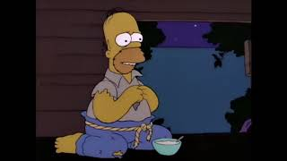 Homer - Eat the pudding