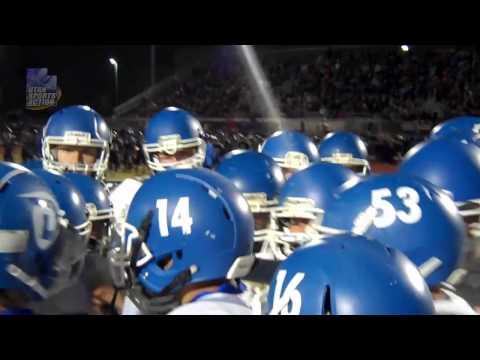 High school football playoffs: Dixie High Flyers pump up speech.
