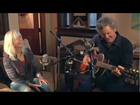 "Emmylou Harris & Rodney Crowell on ""Old Yellow Moon"""