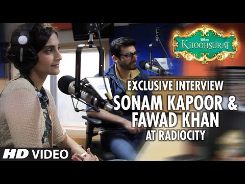 Exclusive: Sonam Kapoor and Fawad Khan Interview | Khoobsurat | Bollywood Interviews | T-series
