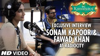 Sonam Kapoor and Fawad Khan Khoobsurat movie Interview