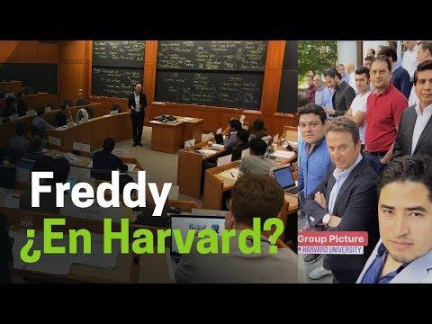 ¿Conoces Harvard? Freddy te muestra cómo es su escuela de negocios.