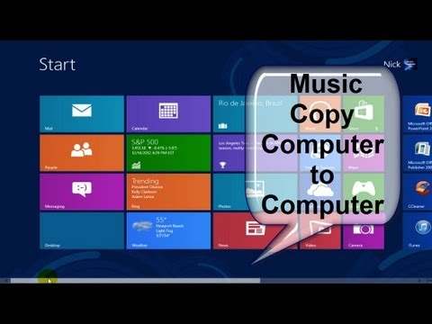 How to Transfer Music from Computer to Computer Free & Easy