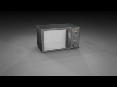 Microwave Model Number Identification