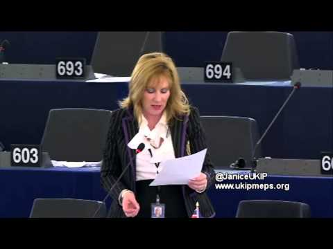 EU sanctions against Russia have only hurt Member States - Janice Atkinson MEP