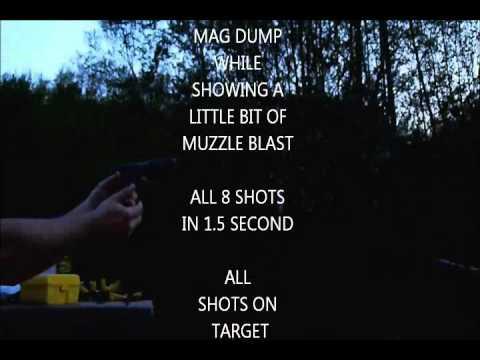 shooting an  m57  7.62mm x 25mm zastava yugoslavia semi-automatic pistol