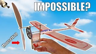 Mousetrap Powered Airplane??