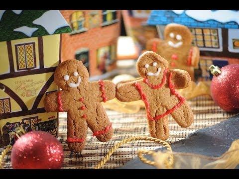 Galletas de jengibre - Gingerbread cookie recipe- Recetas de navidad