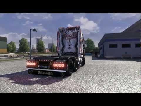 ETS 2 Scania R Topliner V8 + Mods