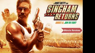 """Singham Returns Movie Review"" 