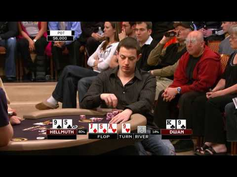 Tom durrrr Dwan vs. Phil Hellmuth Heads Up Poker Championship 2009 2/2 Video