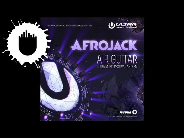 Afrojack - Air Guitar (Ultra Music Festival Anthem) (Cover Art)
