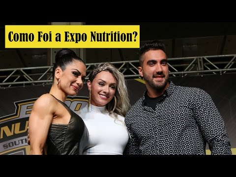 Como Foi a Expo Nutrition 2016