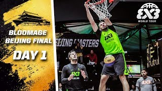 RE-LIVE | FIBA 3x3 World Tour 2018 - Bloomage Bejing Final | Day One