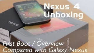 Nexus 4 Unboxing & hands on Overview