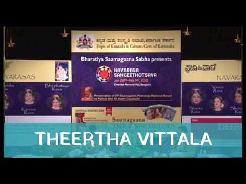 Theertha Vittala By Smt. Aruna Sairam At Navarasa Sangeethotsava 6th Annual Music Festival 2015