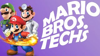 Mario Bros. Techniques - Super Smash Bros. for Wii U Tips and Tricks