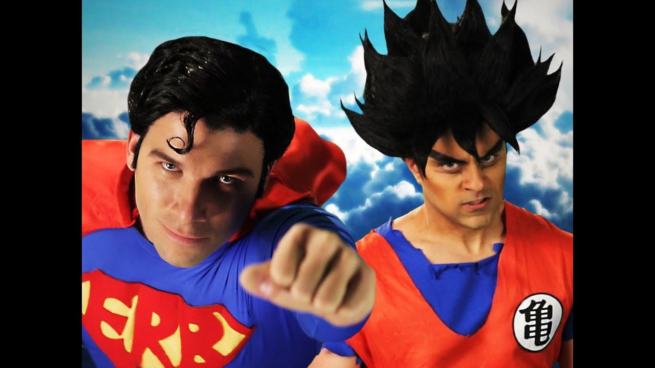 Goku vs Superman. Epic Rap Battles of History Season 3 ...