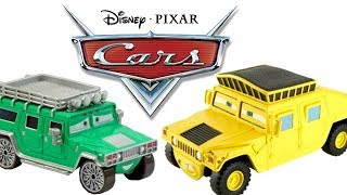 Chase Disney Pixar Cars Toys Collection Hard to Find Rare Hummer Sven TJ Piston Cup Pitty
