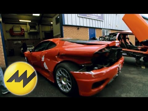 Reportage Edelschrottplatz: Hier gibt es Ersatzteile für die exklusivsten Autos der Welt