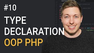 10: Type Declarations In OOP PHP | Type Hinting In PHP | Object Oriented PHP Tutorial | PHP Tutorial