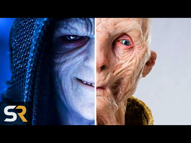 Star Wars 9 Theory Snoke Was Actually Palpatine All Along
