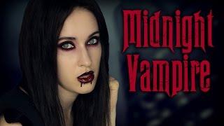 Halloween makeup tutorial: Sexy Vampire, Mortitia Addams, Glam Goth