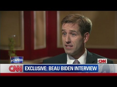 Exclusive: Beau Biden on his dad