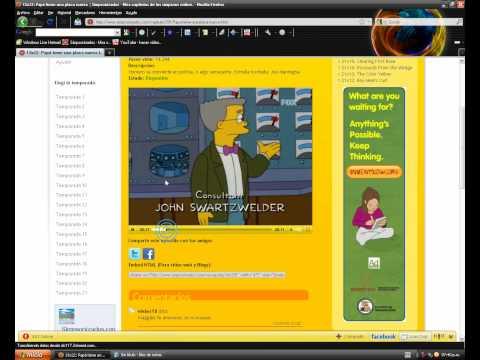 Como ver capitulos completos de Los Simpson Español Latino [HD