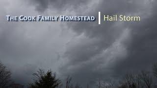 Nasty Hail Storm...Erie PA