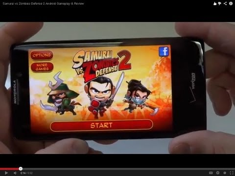 Samurai vs Zombies Defense 2 Android Gameplay & Review - Fliptroniks.com