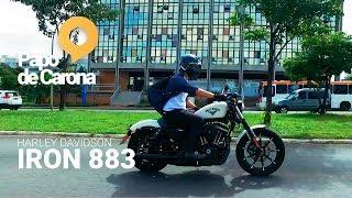 Teste Ride na Harley Davidson Iron 883 - 2018