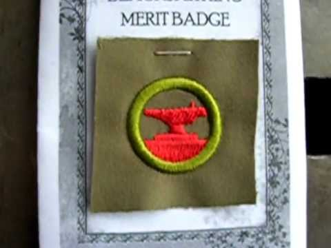 Metalwork Merit Badge Blacksmithing Merit Badge