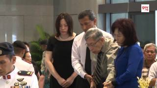 Remembering Lee Kuan Yew | Mr Chiam See Tong pays his respects