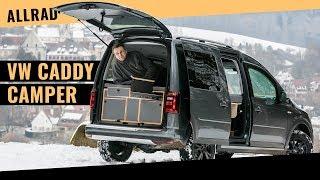 VW Caddy Alltrack Camper von Rohde (Probefahrt)
