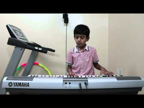 Sare Jahan Se Acha Indian Patriotic Song Played On Keyboard By Vishwaraj Vinayakumar video